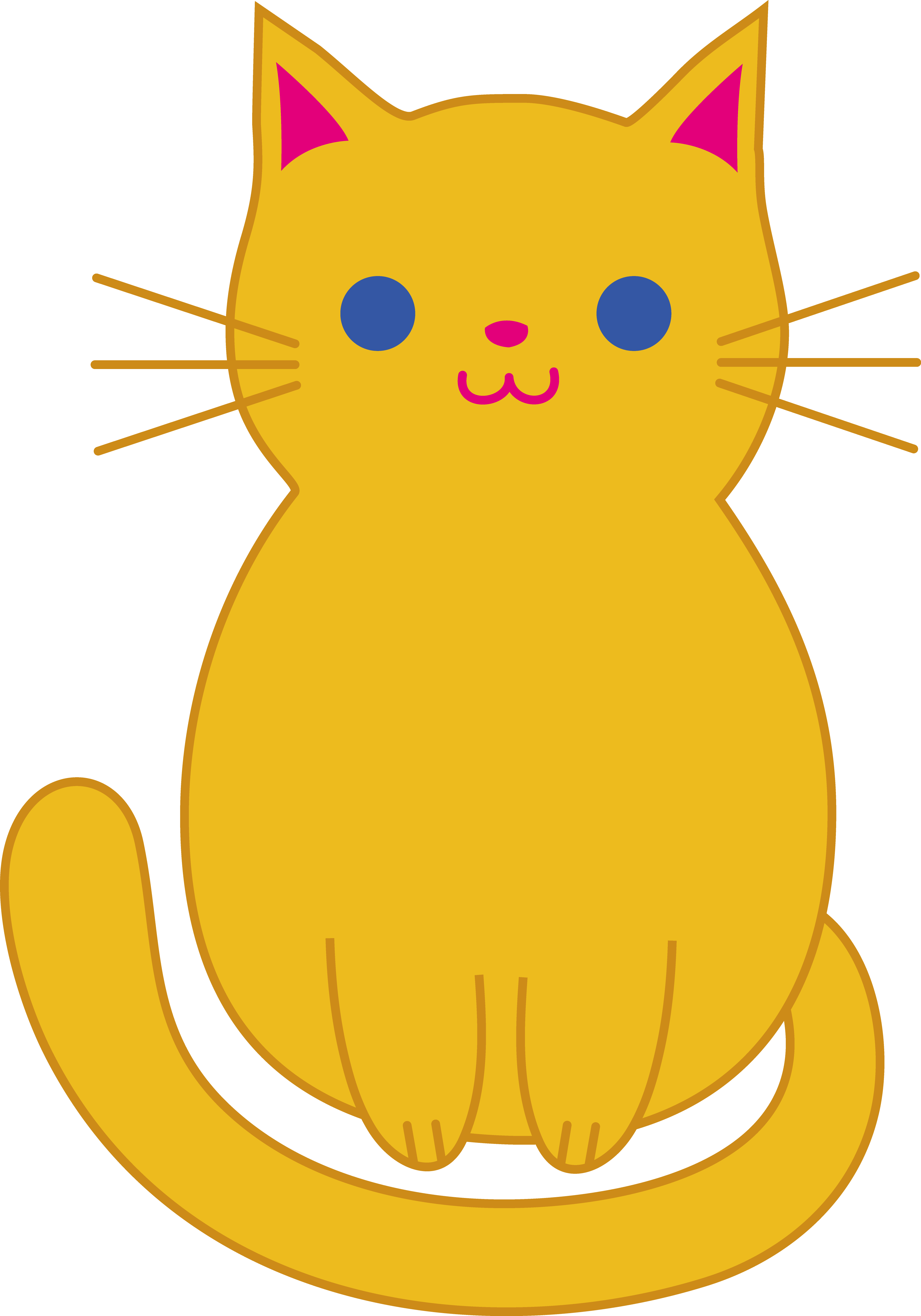 Cute Cat Clip Art | Clipart library - Free Clipart Images