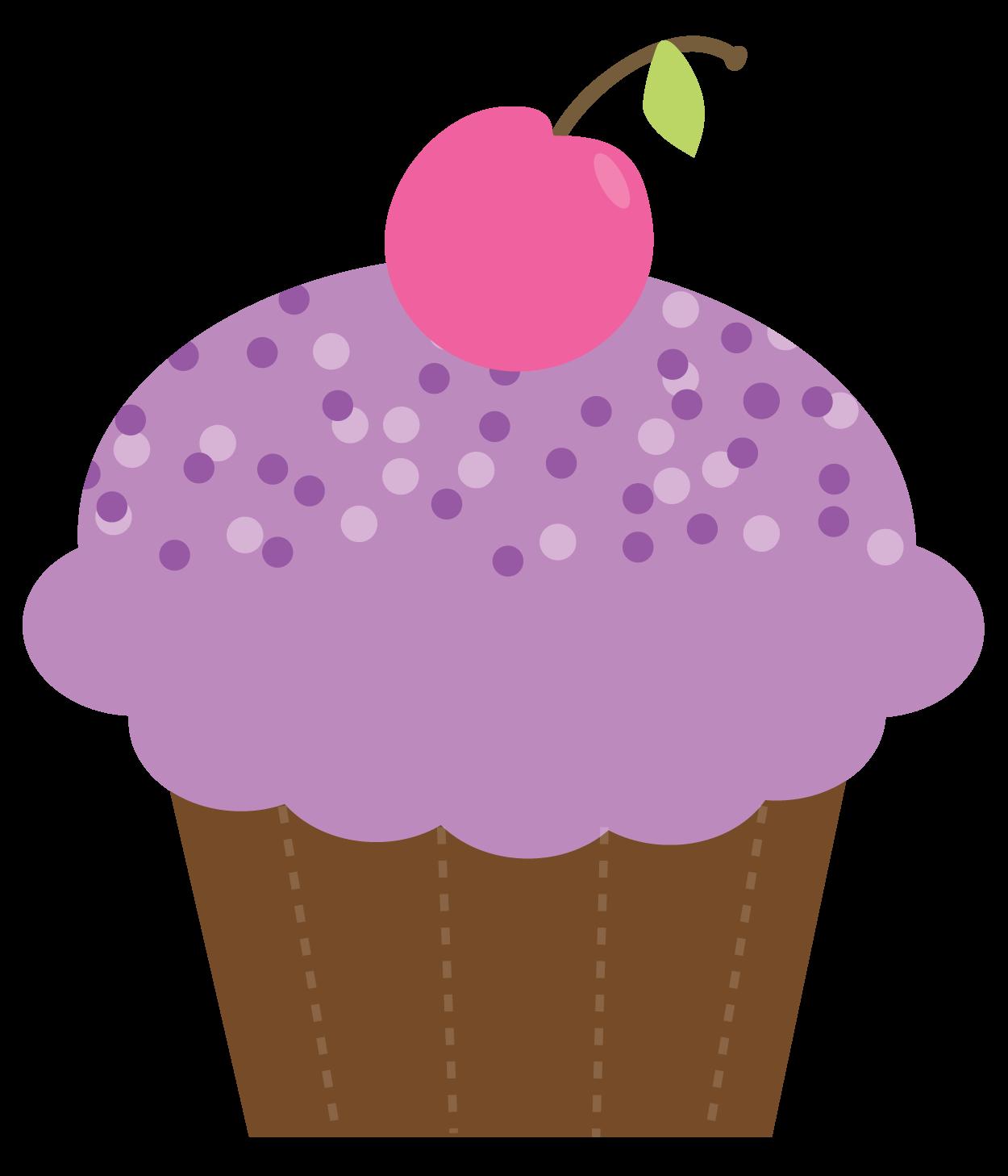 Cute Cupcake Clipart - clipartall