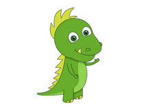 cute dinosaur character prehistoric clipart. Size: 59 Kb