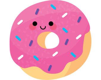 Cute donut clipart clipart kid