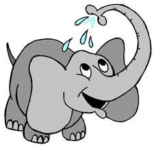 Cute elephant clipart free clipart images