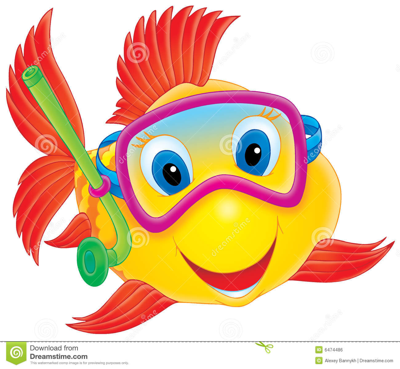 Cute Fish Clipart Coral Reef .