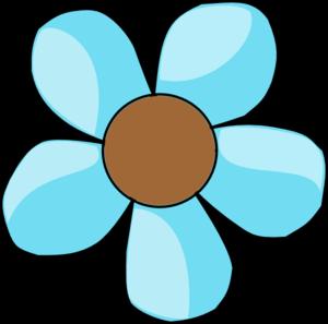Cute Flower Clip Art Vector