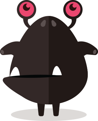 Cute Fun Monster Clipart