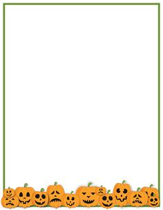 Cute halloween border clipart - ClipartFest