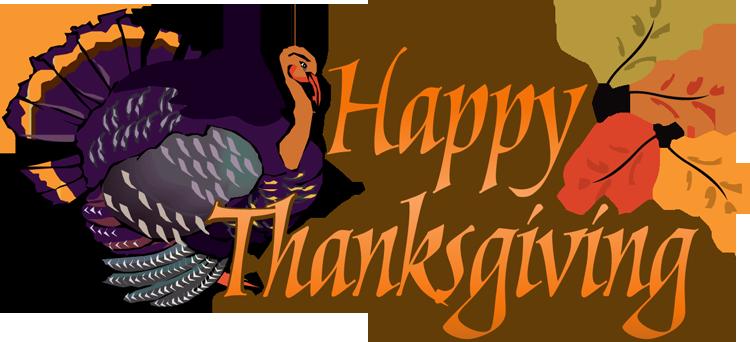 Cute happy thanksgiving .