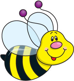 Cute Honey Bee Clipart Clipart Free Clipart Image