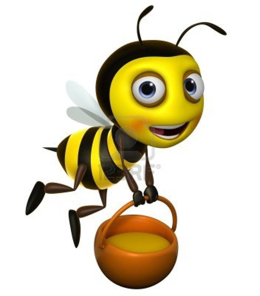Cute Honey Bee Clipart Clipart .