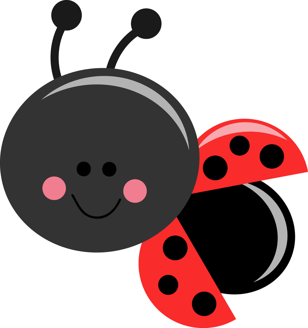 Cute Ladybug Images Clipart Best
