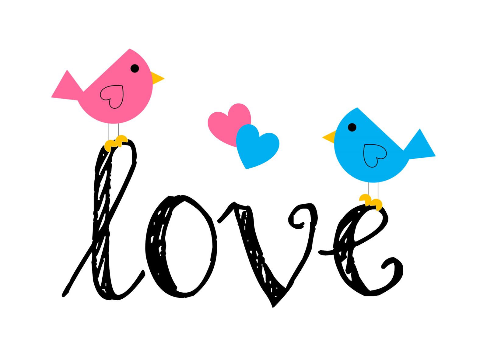 Cute love birds clipart - ClipartFox