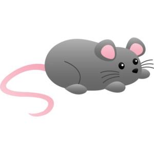 Cute Mouse Clipart - .