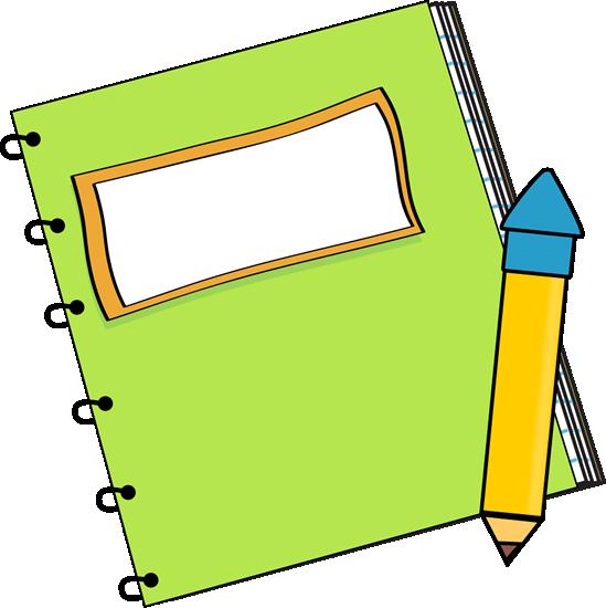 ... Cute Notepad Clipart ...