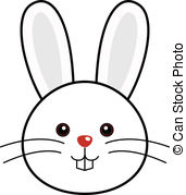 ... Cute Rabbit Vector - Cute animal faces in (One of 25 of.