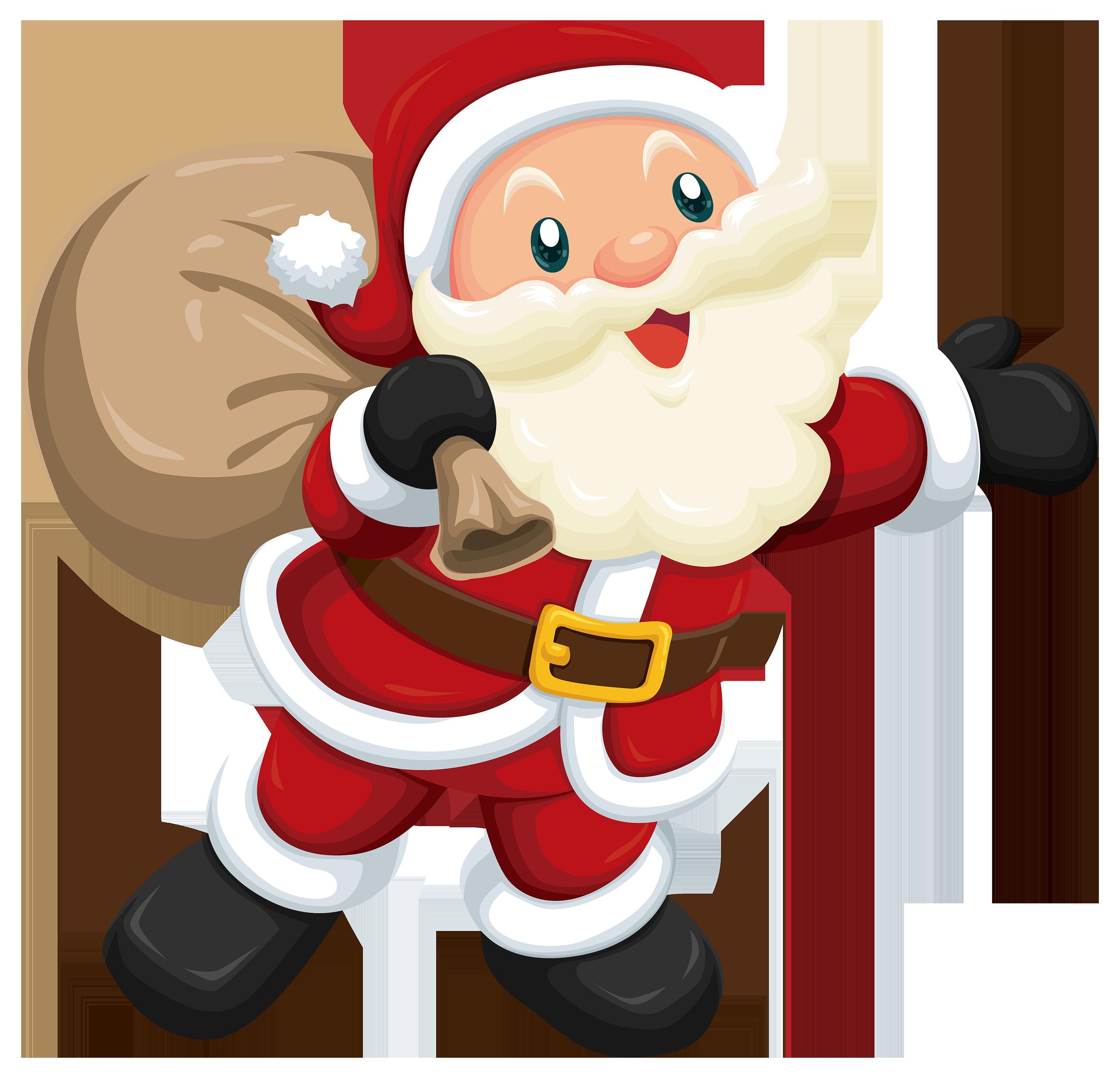 Cute santa clipart web clipart