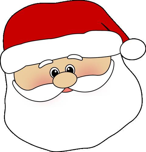 Cute Santa Face. Cute Santa Face Clip Art ...