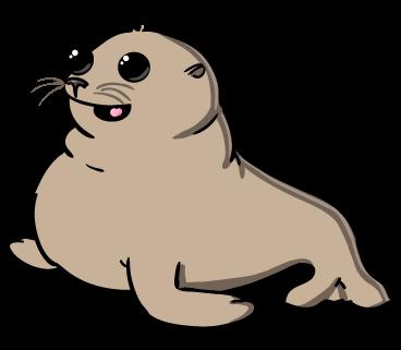 Cute Seal Clipart