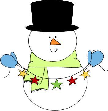 cute snowman clipart   Festive Snowman Clip