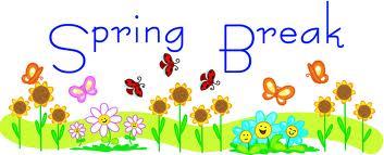 Cute spring break clipart