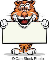 ... Cute Tiger Mascot - Cute Tiger Head Mascot.Separated into.