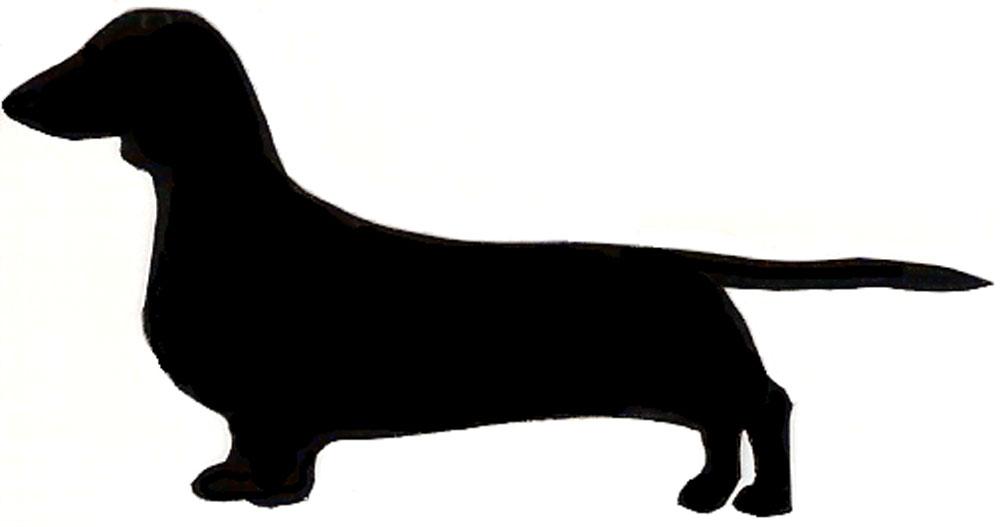Dachshund clipart silhouette - ClipartFest