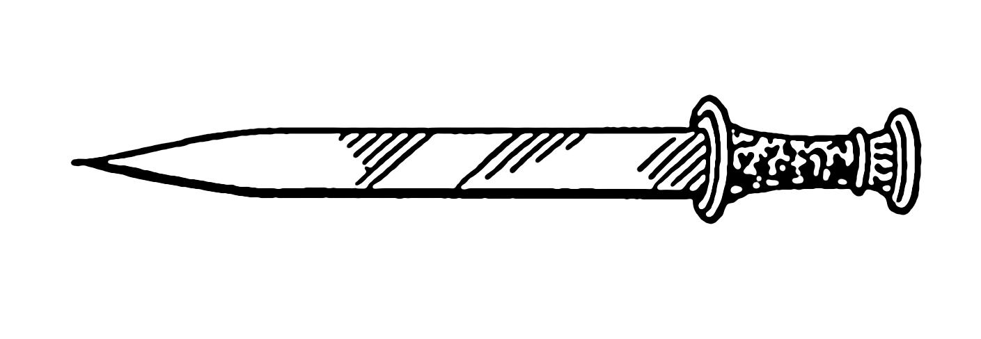 dagger clipart