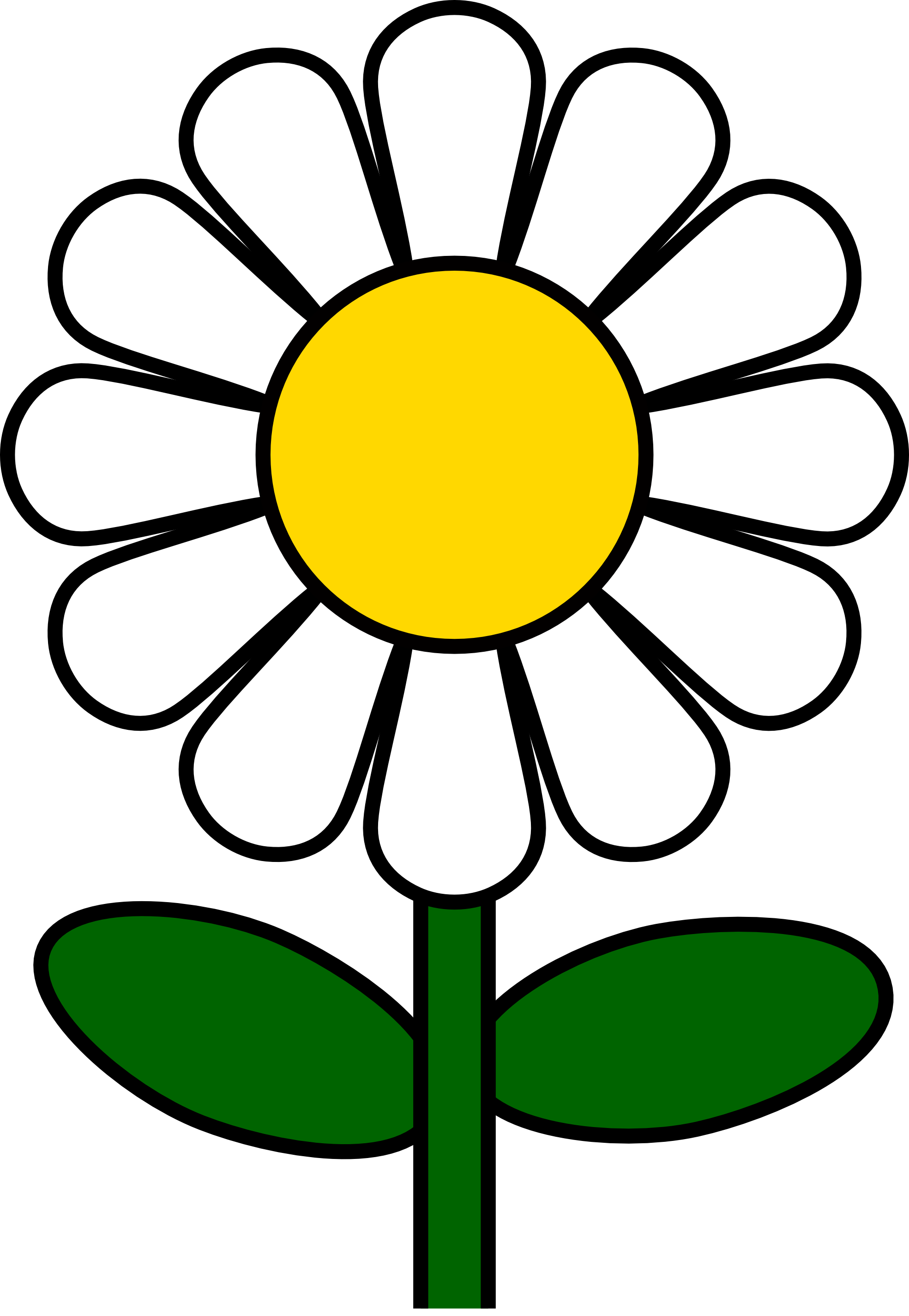 Daisy Clipart #1