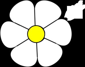 White Daisy Clipart #1