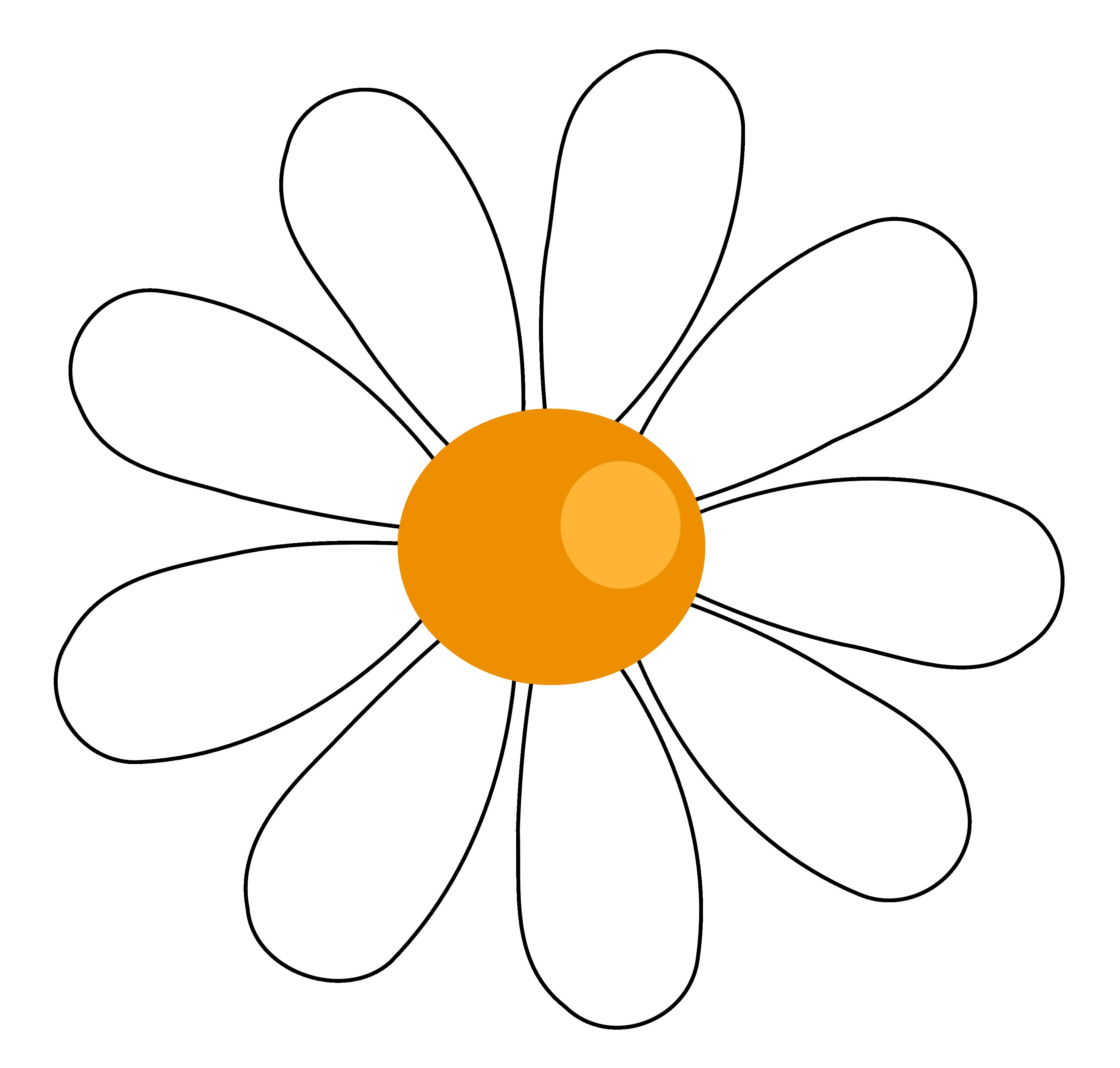 Daisy free clip art