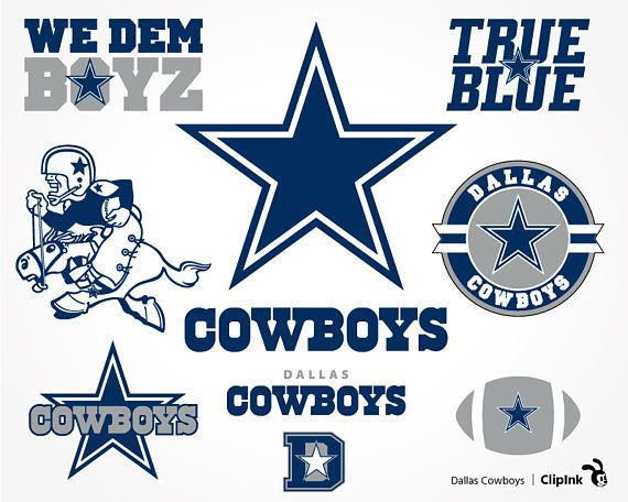 Dallas Cowboys svg Cowboys clipart Dallas svg silhouette