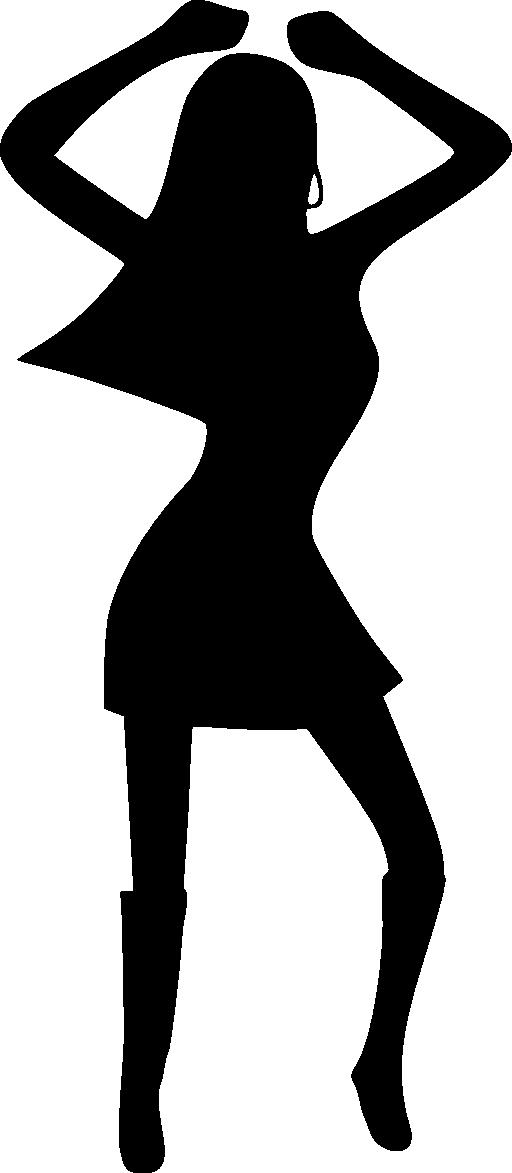 Dance silhouette dancing clip art dromfgg top