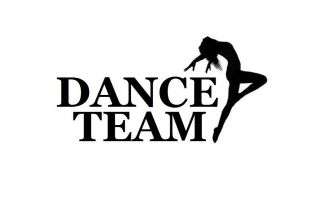 ... dance team clipart black and ...