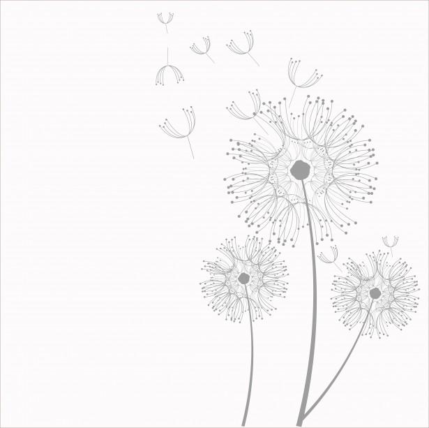 Dandelion Flowers Clipart By Karen Arnold