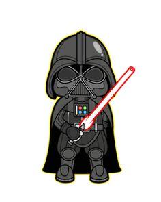 Darth Vader Clipart - .