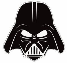 darth vader helmet clip art