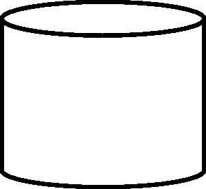 Database Shape Clip Art