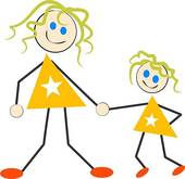 Daughter Vector Clipart And Illustrations Images Frompo