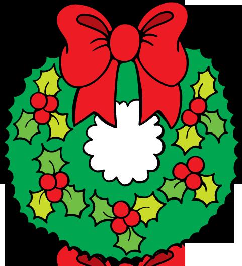 December clip art graphics .