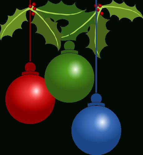 Free Christmas Ornaments Clipart - Public Domain Christmas Clip within  Christmas Decorations Clipart