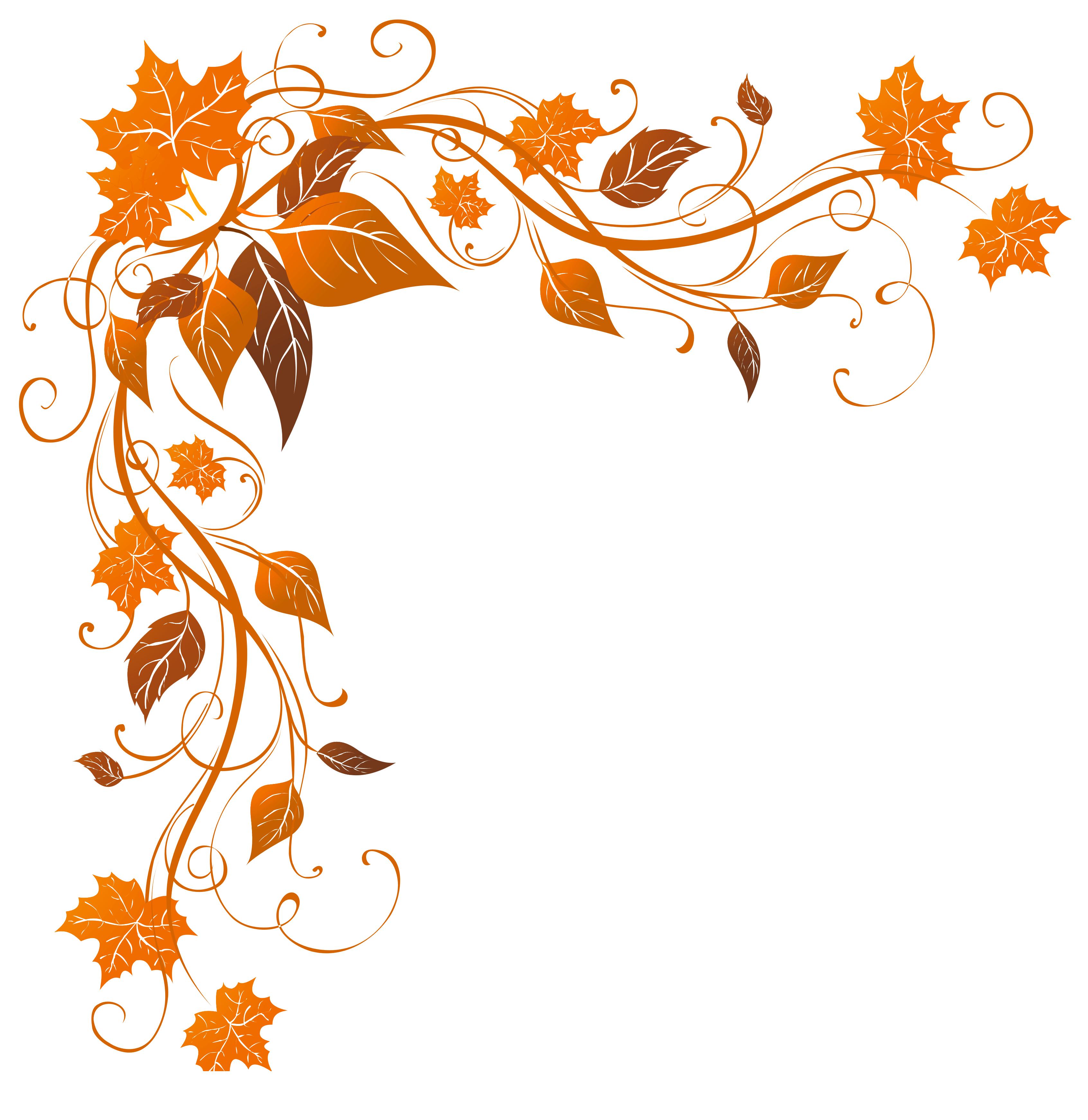 Transparent Autumn Decoration PNG Clipart Image