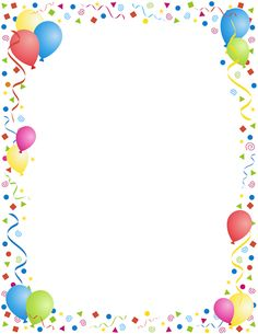 decorative backgrounds for word documents | birthday page borders .