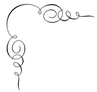 ... Decorative Corner Clipart; Fancy Squiggly Lines Clipart ...