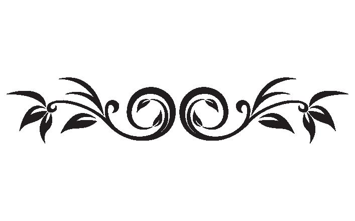 decorative leaf scroll decals stickers : high style wall decals. Decorative Scrolls Clip Art Free ...
