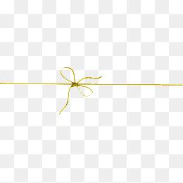 Decorative Line Gold Clipart