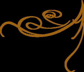 Decorative Line Gold Clipart clip art