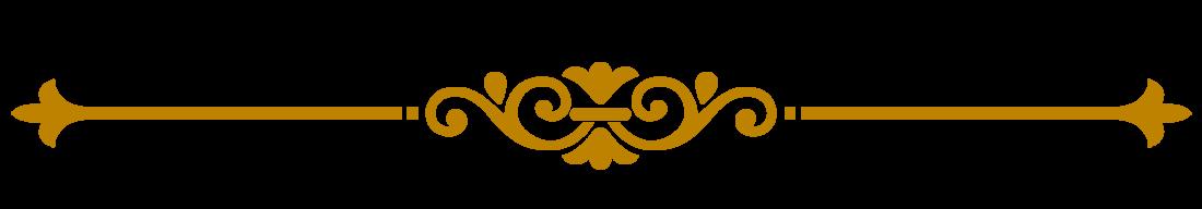 Decorative Line Gold Clipart png