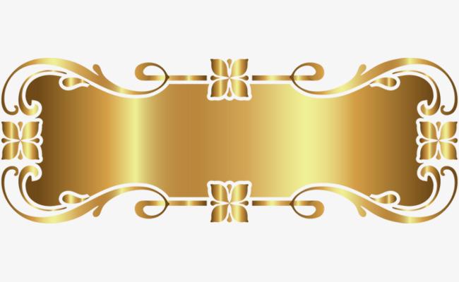 gold decorative frame, Frame, Decoration, Golden PNG Image and Clipart