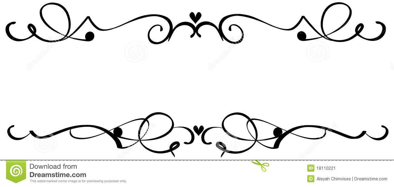 Decorative Scroll Clipart