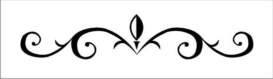 Decorative Scrolls Clip Art Free - Clipart library. Fancy Vectorized Scroll Tattoo