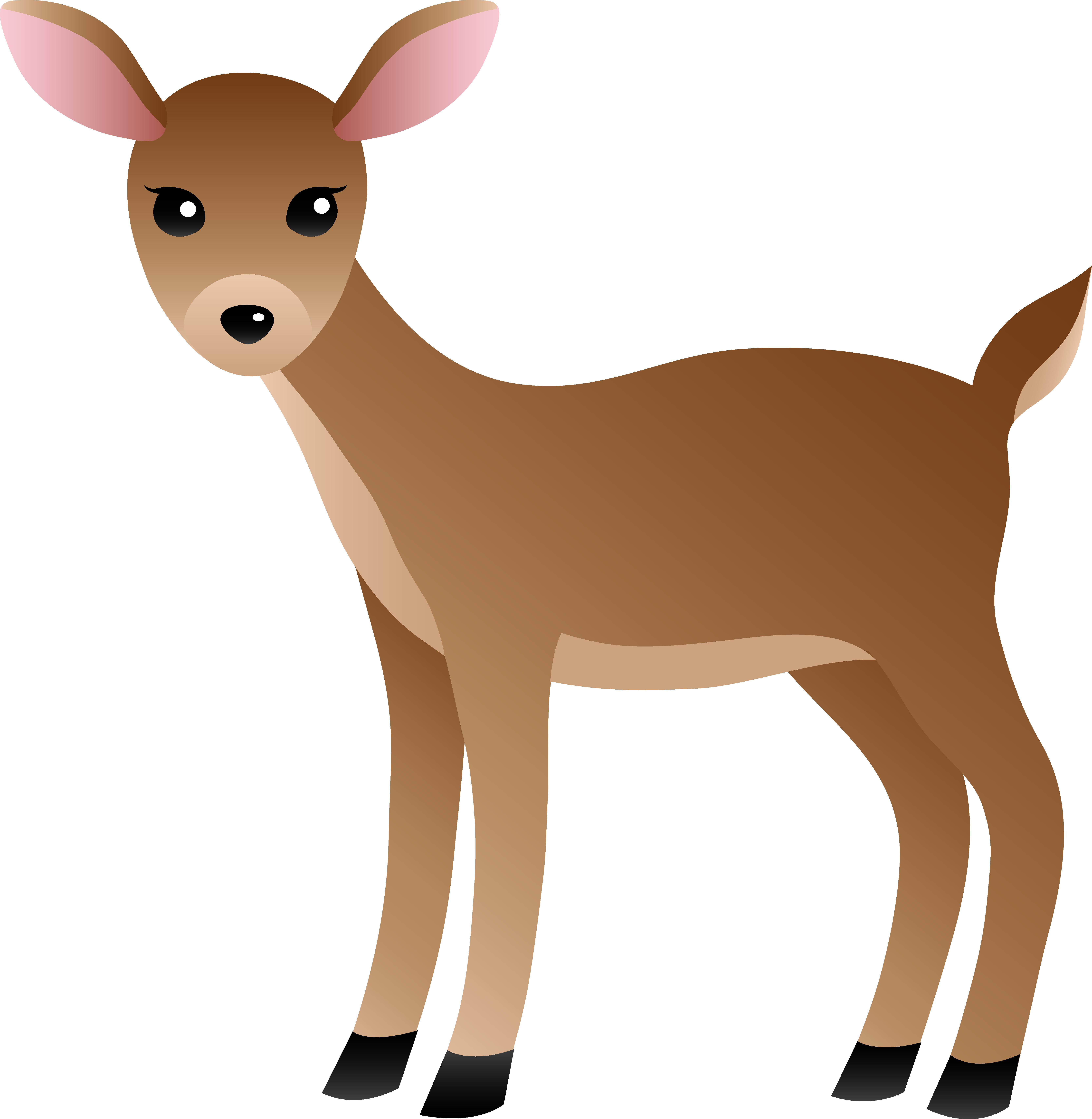 Deer Clipart-Clipartlook.com-6667