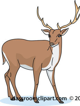 Deer Clipart Deer 01 112 Classroom Clipart